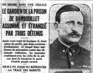 1926 : un tragique fait divers…
