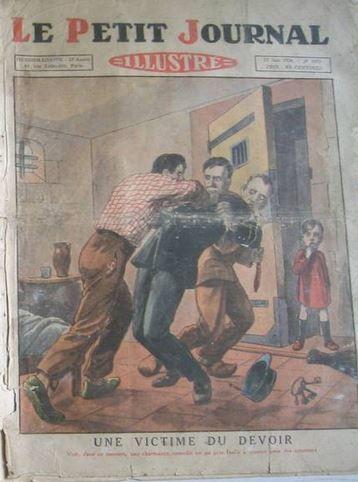 le petit journal : crime à Rambouillet