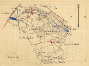 plan d'Auffargis 1899