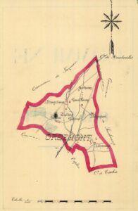 plan d'Orcemont 1899