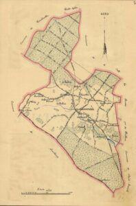 plan de Clairefontaine 1899