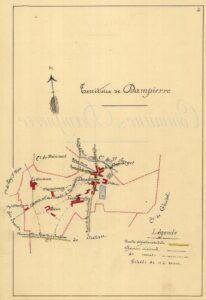 plan de Dampierre 1899