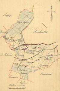 plan de Gazeran 1899