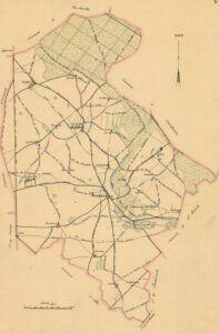 plan de Sonchamp 1899