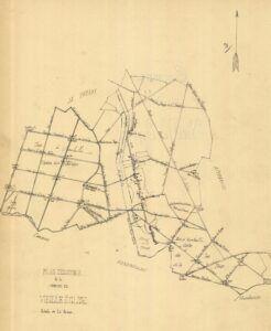 plan de Vieille-Eglise 1899