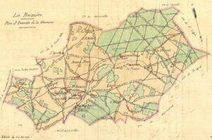 plan de la Boissière-Ecole