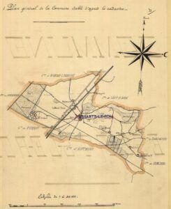 plan de Les- Essarts-le-roi 1899