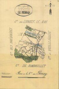plan de Le-Perray-en-Yvelines 1899