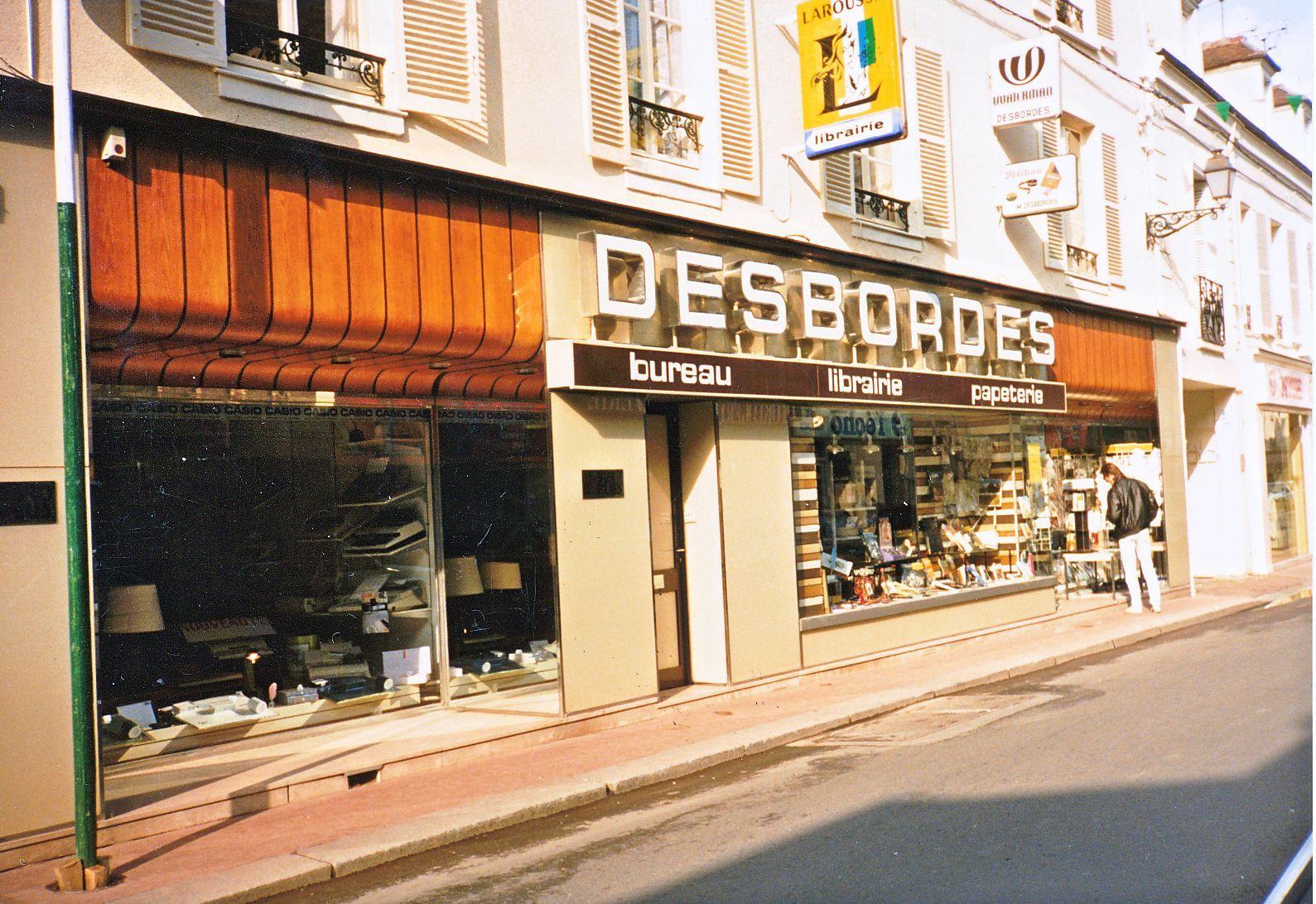 La librairie Desbordes de Rambouillet