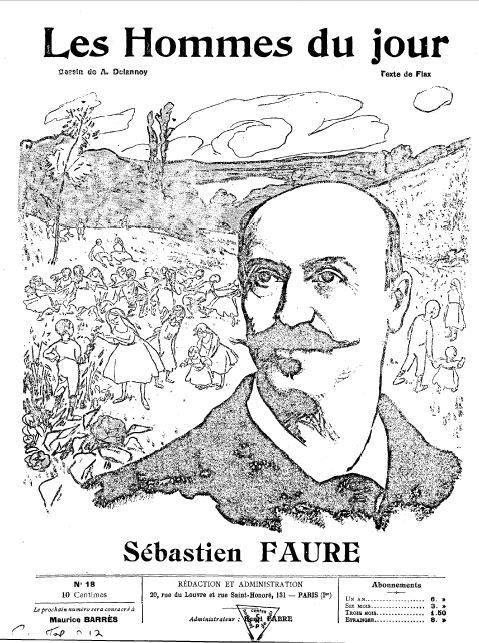 Sébastien Faure, un anarchiste à Rambouillet