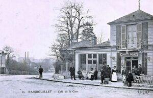 Rambouillet, sur la ligne Paris-Chartres