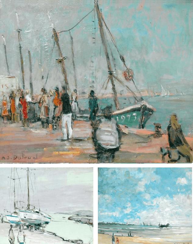 André Dutruel, peintre de la lumière