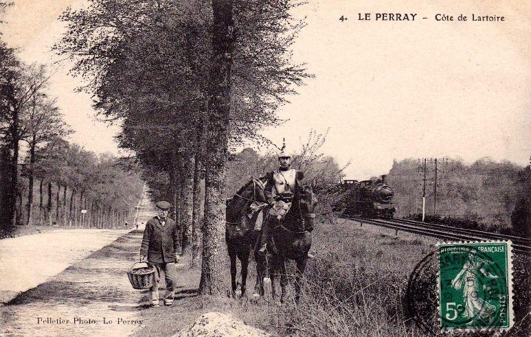 La gare du Perray-en-Yvelines