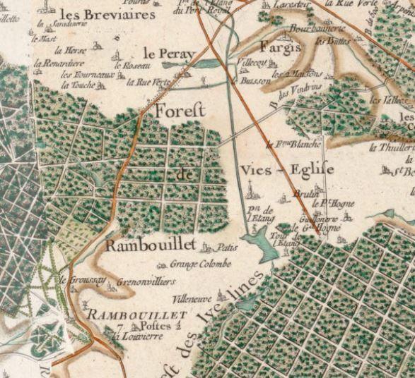 Rambouillet en 1763