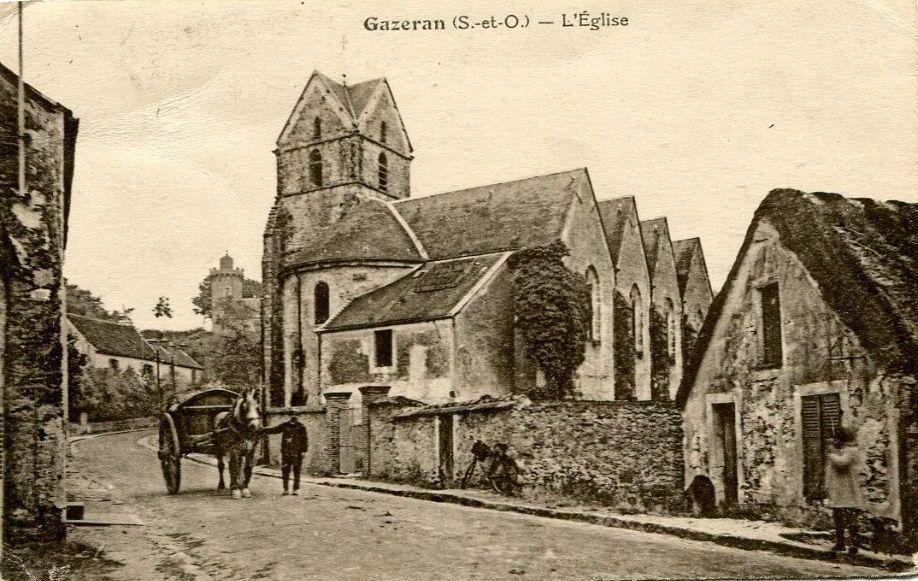 Gazeran : l'église Saint-Germain-d'Auxerre