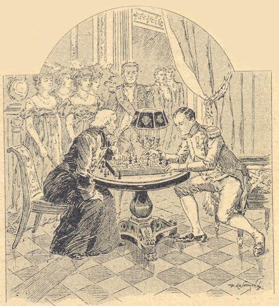 Une partie d'échecs impériale