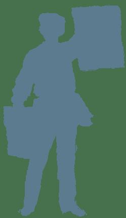 crieur de journaux en Yveline