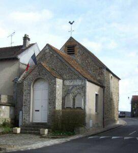 l'église-mairie de Maincourt