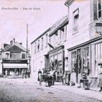 la rue Raymond Poincaré