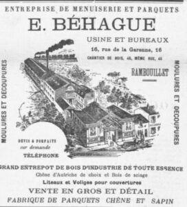 la menuiserie Behague